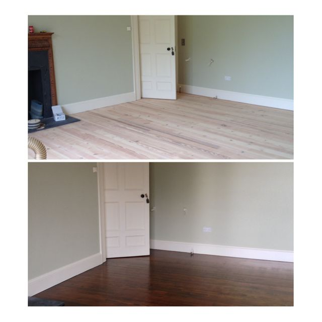 Before and After Sinnotts Decorators